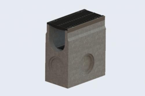 betonová vpust s litinou